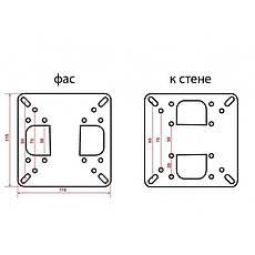 Кронштейн КВАДО К-22, фото 2