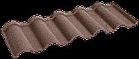 Металочерепица композитная 30 Verona Coffe (0,45) 1 тайл Queen Tile