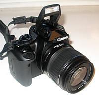 Зеркальный фотоаппарат Canon EOS 350D Kit (18-55mm) - CMOS - в Идеале!