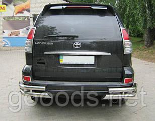 Спойлер Toyota Prado 120 под покраску, без стопа