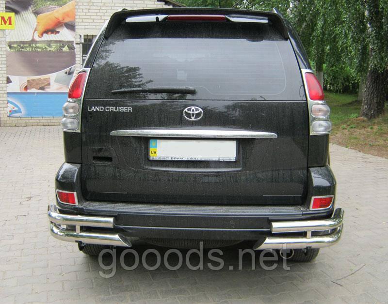 Спойлер Toyota Prado 120, без стопа - GOOODS.NET - Интернет магазин в Луцке