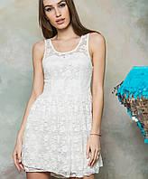 Женское гипюровое платье (126 br)