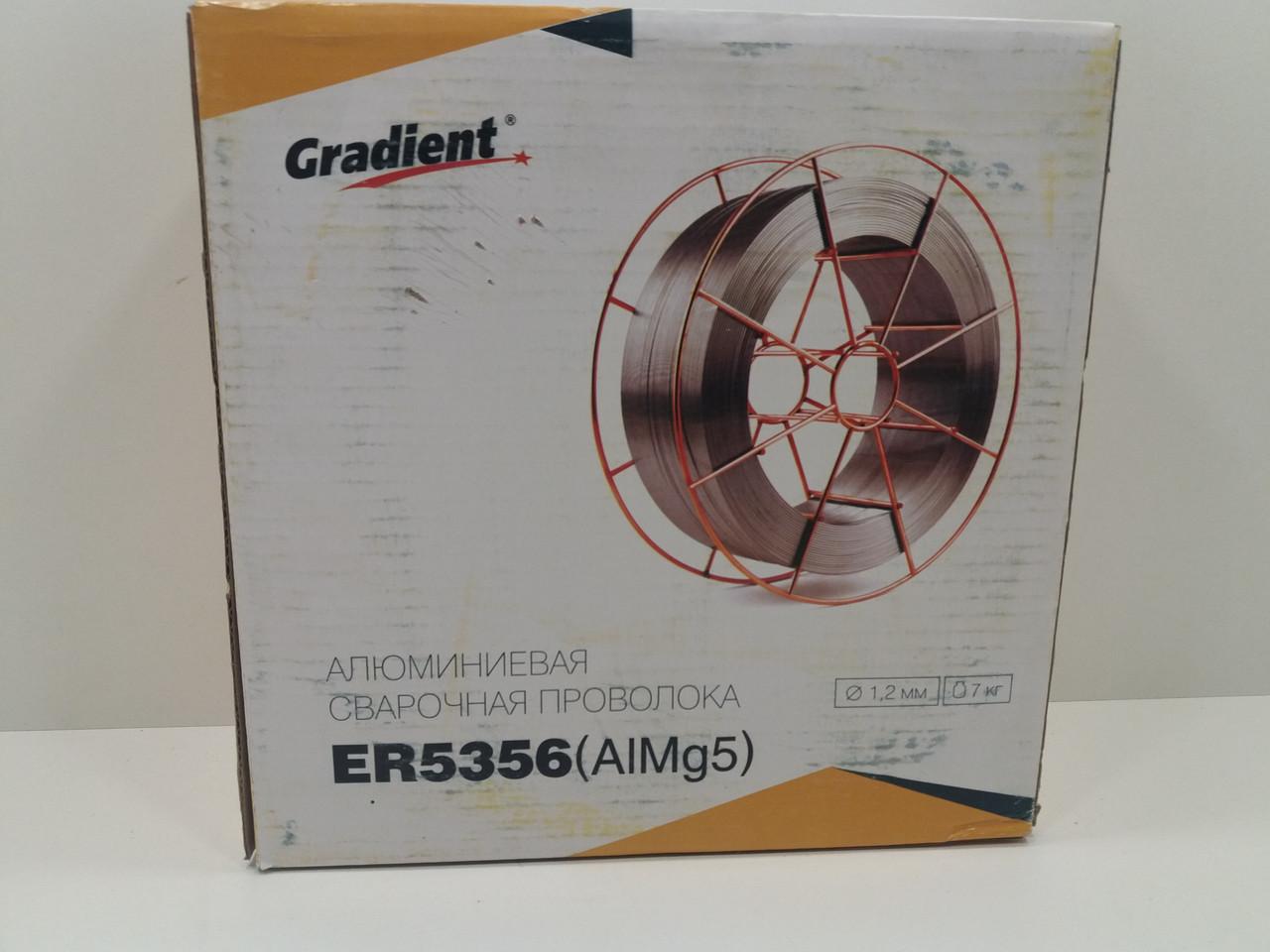 Проволока алюминий ER5356(AlMg5) 1,2мм 7,0 кг(аналог АМг5)