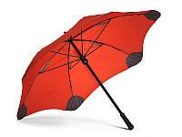 Противоштормовой зонт-трость женский механический BLUNT (БЛАНТ) Bl-mini-red
