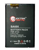 Аккумулятор (батарея) Sony ST25i / BA-600 (1100 mAh)