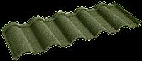 Металочерепица композитная 30 Verona Green (0,45) 1 тайл Queen Tile