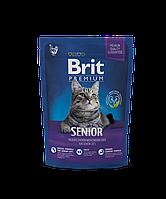 Brit Premium Senior корм для пожилых кошек, 1.5 кг