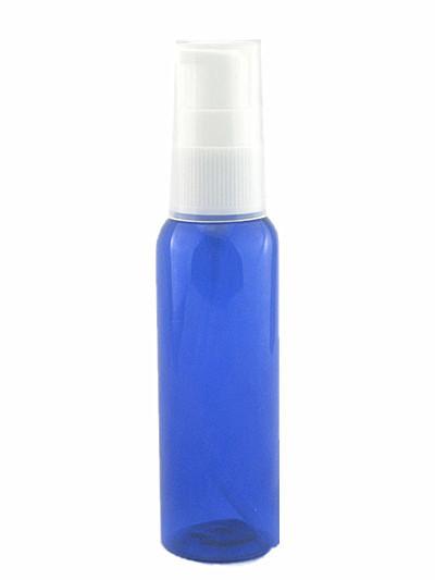 Пластиковая бутылочка с распылителем , 120 мл синяя