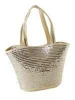 Женская сумка из соломы