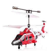Вертолёт SYMA с 3-х канальным и/к управлением, светом и гироскопом 21.5 см (S111G)