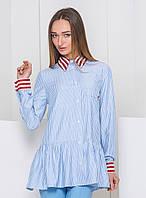 Стильная рубашка в полоску With Pepper
