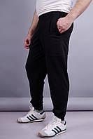 Нави. Спортивные штаны мужские. Черный.