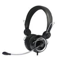 Гарнитура ergo vm-260 black с выносным микрофоном