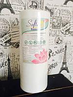 Полотенца одноразовые в рулоне 40*70 см 100шт Beauty вискоза+полиэстер с перфорацией, фото 1