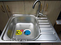 Кухонная мойка Teka Universal E 50 1C 580 x 500 + смеситель inox