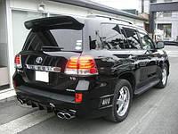Спойлер на багажник Тойота Крузер 200