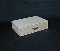 Заготовка для декупажа. Комодик один ящик №2 14х19х5(см)
