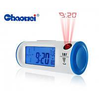 Часы с проектором Chaowei, электронные, с подсветкой