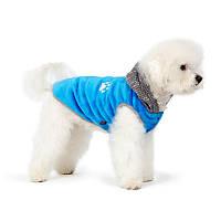 Жилет для собаки Чип S, Длина спины: 27-30см, обхват груди: 32-40см  (цвета разные)