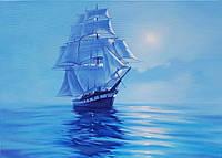 «Голубая мечта» картина маслом