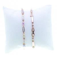 Браслеты для женщин с разноцветными кристаллами