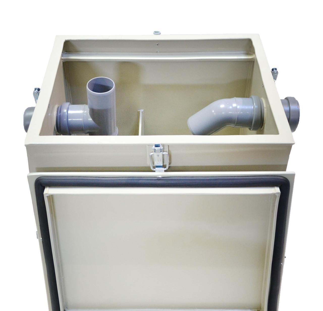 Жироуловитель (сепаратор жира) под мойку СЖ-БИО-0,5П