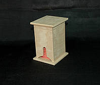 Заготовка для творчества. Чайный домик №1 9х9х15(см)