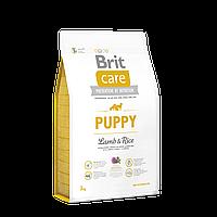 Brit Care Puppy Lamb & Rice корм для щенков всех пород, 3 кг