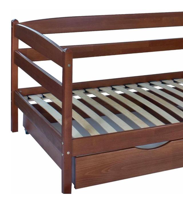 Кровать детская Марио (Бук) Ламели