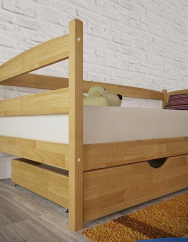 Кровать детская Марио (Бук) боковины