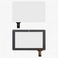 """Сенсорный экран для планшетов China-Tablet PC 7""""; Ainol Novo 7 Crystal, Novo 7 Elf, 7"""", 30 pin, емкостный, белый, (186*117 мм), #HOTATOUCH"""