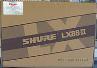 Радио система Shure Lx 88 II радиомикрофоны sm 58 lx 88 2 беспроводные (sennheiser) шуры, для школ, ведущих