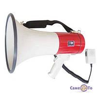 Мегафон рупор SD-10SH з мікрофоном і сиреною, 1000845, гучномовець рупорний, гучномовець вуличний, рупор мегафон, рупор гучномовець, купити рупор