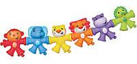 Развивающая игрушка-конструктор Красочные животные, Sensory