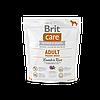 Brit Care Adult Medium Breed Lamb & Rice корм для собак средних пород, 1 кг
