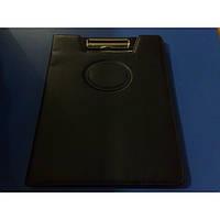Папка-Планшет А4 с клипом кожзам черный