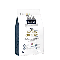 Brit Care Dog Show Champion Salmon & Herring корм для выставочных собак, 3 кг