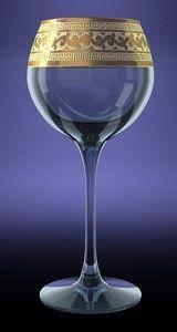 "Набор бокалов для вина ""Версаче"" h-194 v-280гр 6шт подар. Алеанаак.""Ар"""