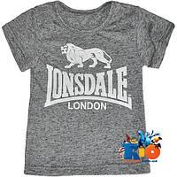 """Стильная футболка с оригинальным накатом """"Lonsdale"""" , для мальчиков (рост 92-116 см) (5 ед. в уп.)"""
