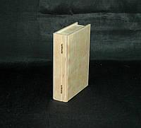 Заготовка для творчества. Шкатулка книга. 16х11х4(см)