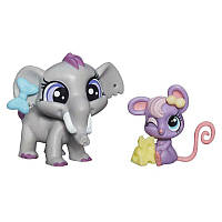 Зверюшка и её малыш Fletcher von Trunk и Teensie Fromage Littlest Pet Shop Hasbro