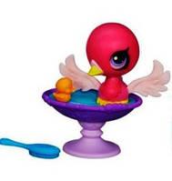 Лебедь с волшебным механизмом и аксессуаром Littlest Pet Shop Hasbro