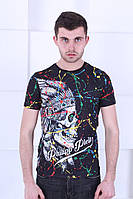 Стильная летняя футболка Philipp Plein