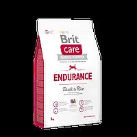 Brit Care Endurance Duck & Rice корм для собак c высокой активностью, 3 кг