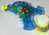 """Пистолет для мыльных пузырей со светом """"дельфин"""""""