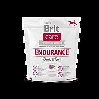 Brit Care Endurance Duck & Rice корм для собак c высокой активностью, 1 кг