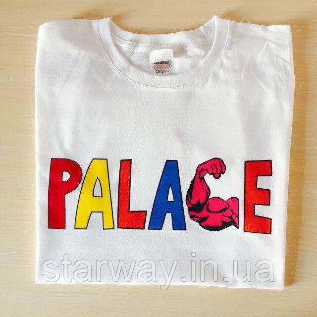 Футболка белая | Palace logo