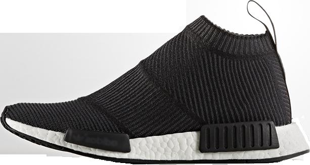 Женские кроссовки Adidas NMD City Sock Black Gum BA7209, Адидас НМД