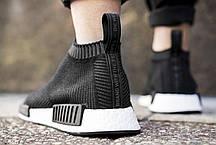 Женские кроссовки Adidas NMD City Sock Black Gum BA7209, Адидас НМД, фото 2