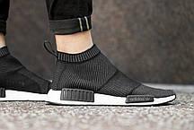 Женские кроссовки Adidas NMD City Sock Black Gum BA7209, Адидас НМД, фото 3